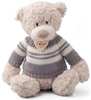 Мечето Спенсър с пуловер - Плюшена играчка -