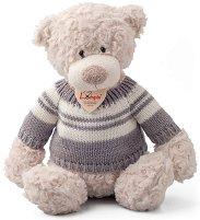 Мечето Спенсър с пуловер - играчка