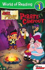 World of Reading: Jake and the Never Land Pirates - Pirate Campout Level 1 -