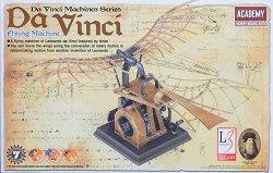 """Летателният апарат на Леонардо да Винчи - Сглобяем модел от серията """"Da Vinci Machines"""" -"""