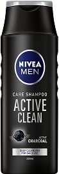 Nivea Men Care Shampoo Active Clean - самобръсначка