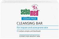 "Sebamed Clear Face Cleansing Bar - Хипоалергенен сапун за лице и тяло против акне от серията ""Clear Face"" - душ гел"