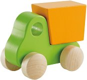 Камионче - Дървена играчка -