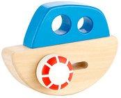 Корабче - Дървена играчка -