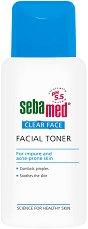 """Sebamed Clear Face Deep Cleansing Facial Toner - Хипоалергенен тоник за лице против акне от серията """"Clear Face"""" - спирала"""