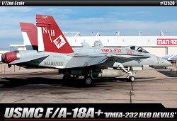 Военен самолет - USMC F/A-18A+ VMFA-232 Red Devils - Сглобяем авиомодел -