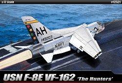 Военен самолет - USN F-8E VF-162 The Hunters - Сглобяем авиомодел -