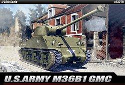 Противотанкова самоходна артилерийска установка - M36B1 GMC - Сглобяем модел - макет