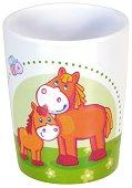 Детска меламинова чаша - Домашни животни -