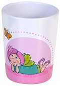 Детска меламинова чаша - Пеперуди -