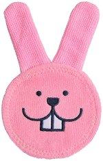 Розов накрайник за почистване на венци - Oral Care Rabbit -