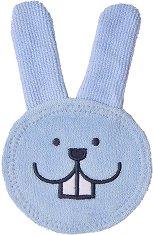 Накрайник за почистване на венци - Oral Care Rabbit - За бебета от 0+ месеца -