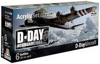 Acrylic Set - D-Day Aircraft - Комплект акрилни боички -