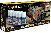 Acrylic Set - Modern Military Vehicles U.S. / NATO - Комплект акрилни боички -