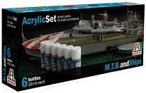 Acrylic Set - M.T.B. and Ships - Комплект акрилни боички -