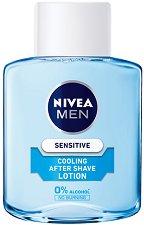 Nivea Men Sensitive Cooling After Shave Lotion - маска