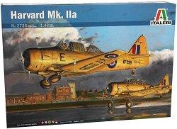 Тренировъчен самолет - Harvard Mk. IIa - Сглобяем авиомодел - макет