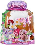 Пеперуда - Flutter - Соларна играчка - играчка