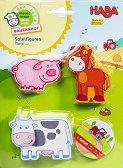 """Животни от фермата - Дървени фигури от серията """"My first game world farm"""" -"""