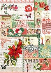Декупажна хартия - Коледа 228