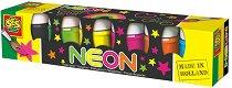 Неонови бои - Комплект от 6 цвята