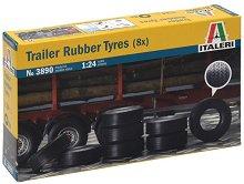 Гуми за ремарке на камион - Комплект от 8 броя -