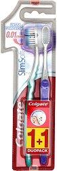 Colgate Slim Soft - Четка за зъби 1 + 1 подарък -