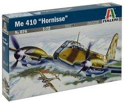 Военен самолет - Messerschmitt Me 410 Hornisse - Сглобяем авиомодел -