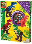 Мозайка с мъниста - Тиранозавър Рекс - Творчески комплект - играчка