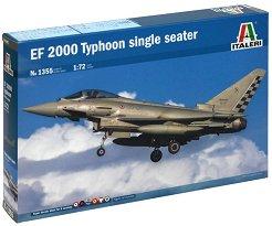 Едноместен изтребител - EF-2000 Typhoon - Сглобяем авиомодел -
