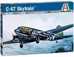 Военен транспортен самолет - C-47 Skytrain - Сглобяем авиомодел -
