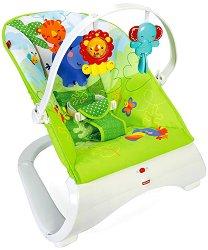 Бебешки шезлонг - Rainforest - С вибрация -