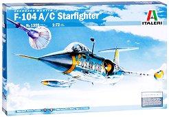 Военен самолет - F-104 A/C Starfighter - Сглобяем авиомодел -
