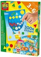 Уча се да разпознавам формите и цветовете - Образователен комплект + 300 стикера - играчка