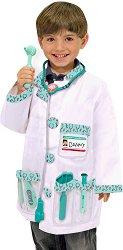 Парти костюм - Доктор - играчка
