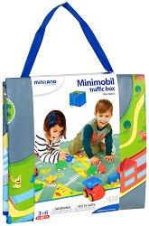 Килимче и чанта 2 в 1 - Град - За игра с колички - творчески комплект