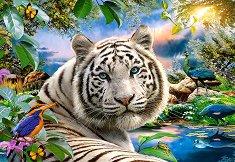 Бял тигър - пъзел