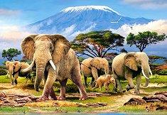 Сутрин на Килиманджаро - пъзел