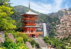 Будистски храм, Япония - пъзел
