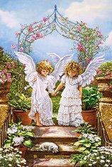 Ангелски приятели - Сандра Кук (Sandra Kuck) - пъзел