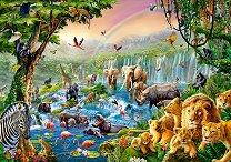 Река в джунглата - пъзел