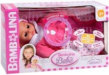 """Говорещо бебе - Фиорелина - Интерактивна играчка от серията """"Bambolina"""" - кукла"""
