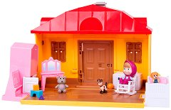 """Къщата на Маша - Комплект за игра от серията """"Маша и Мечока"""" - играчка"""
