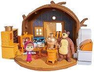 """Къщата на Мечока - Комплект за игра от серията """"Маша и Мечока"""" - играчка"""