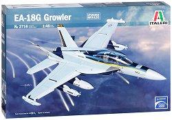 Военен самолет - EA-18G Growler - Сглобяем авиомодел -