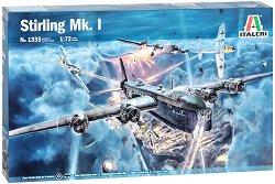 Военен самолет - Short Stirling Mk. I - Сглобяем авиомодел -