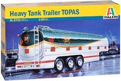 Тежко ремарке цистерна TOPAS - Сглобяем модел -