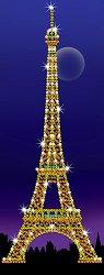 Направи сама картина с пайети - Айфеловата кула - Творчески комплект - играчка