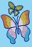 Направи сама картина с пайети - Пеперуди - Творчески комплект - творчески комплект