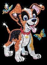 Направи сама картина с пайети - Кученцето Оскар - Творчески комплект - играчка